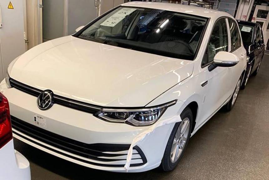Новый Volkswagen Golf: без камуфляжа