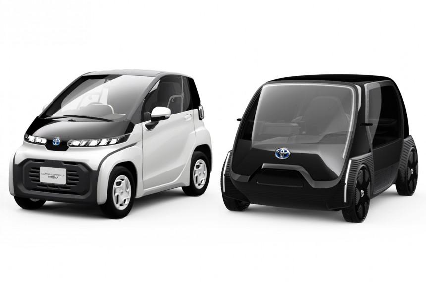 Toyota представила первую волну электромобилей