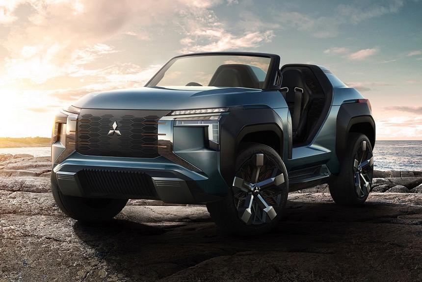 Премьеры Mitsubishi: багги с газотурбинным двигателем и кей-кар