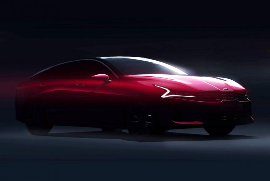 Kia Optima нового поколения: первые изображения