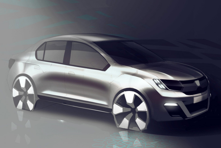 Renault готовит компактный седан для развивающихся стран
