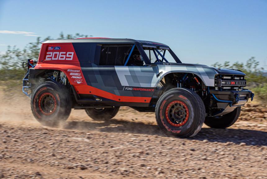 Дайджест дня: гоночный Ford Bronco, двухколесный Aston Martin и другие события индустрии