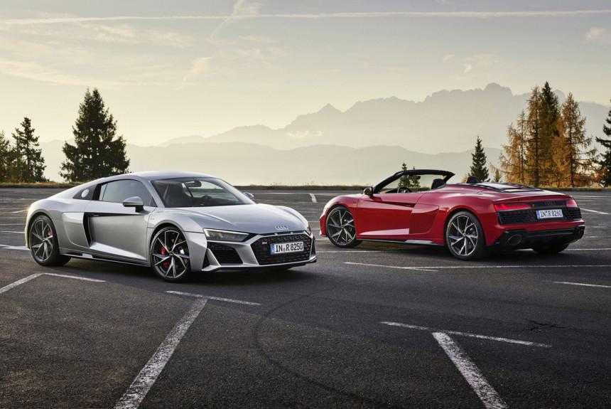 Заднеприводные Audi R8 V10 RWD: теперь без ограничений
