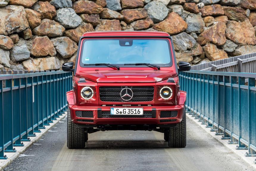 Mercedes превратит Gelandewagen вэлектрокар