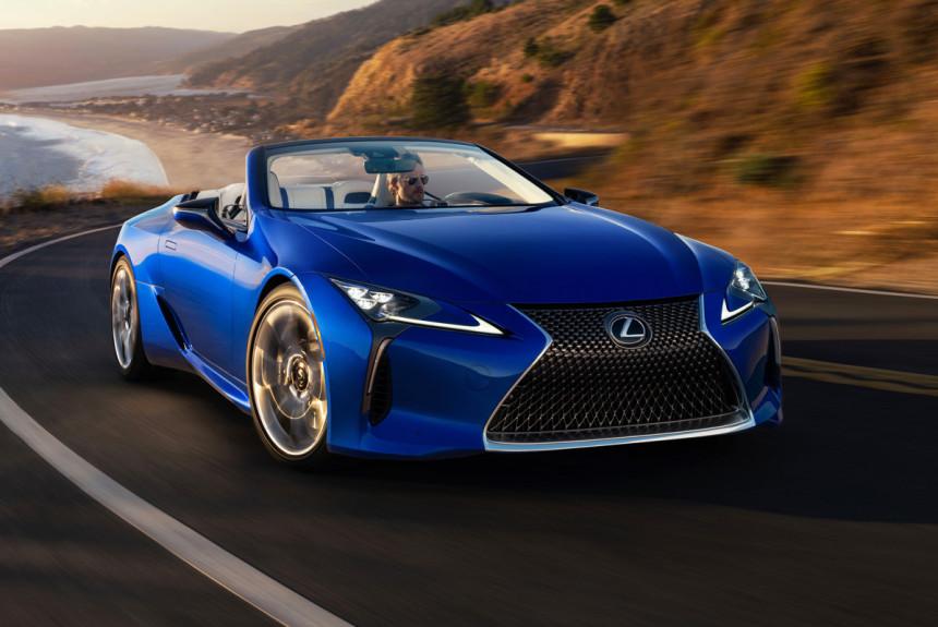 Кабриолет Lexus LC дебютировал в серийном виде