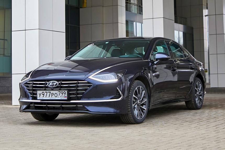 Hyundai Sonata с базовым мотором: комплектации и цены