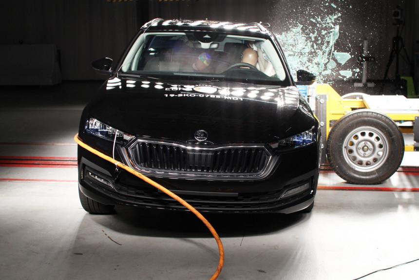 Краш-тесты Euro NCAP: Octavia, Tesla, Taycan и другие