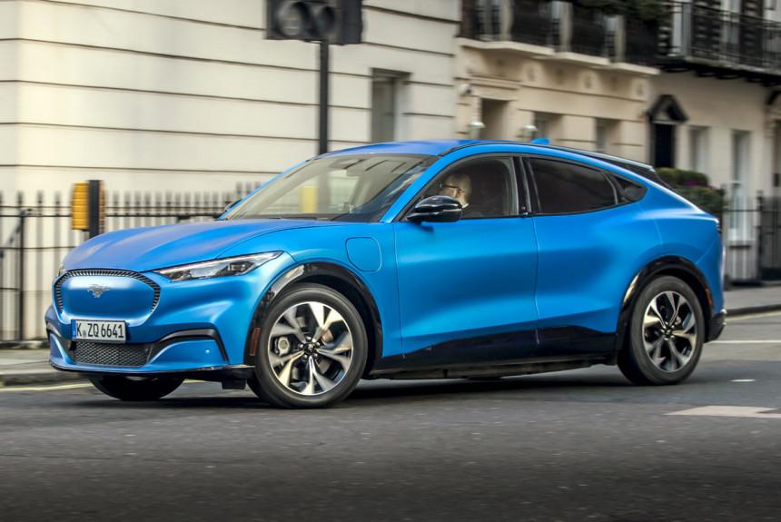 Article 169555 860 575 - Электрический Ford Mustang Mach-E: дебют в Европе