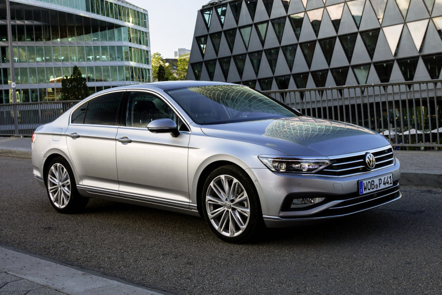 Обновленный Volkswagen Passat 2019-2020 г.