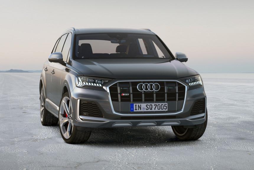 Дизельный кроссовер Audi SQ7 добрался до России