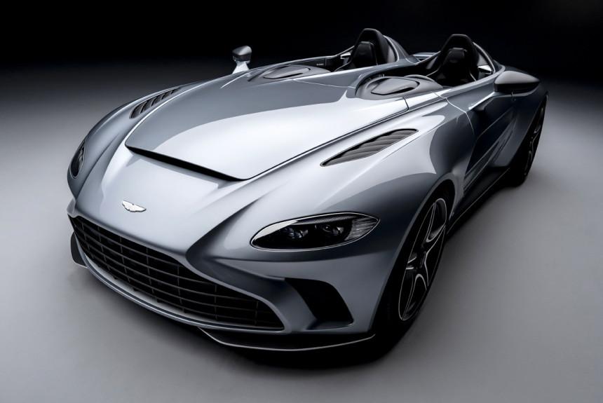 Новый Aston Martin V12 Speedster дорожный истребитель