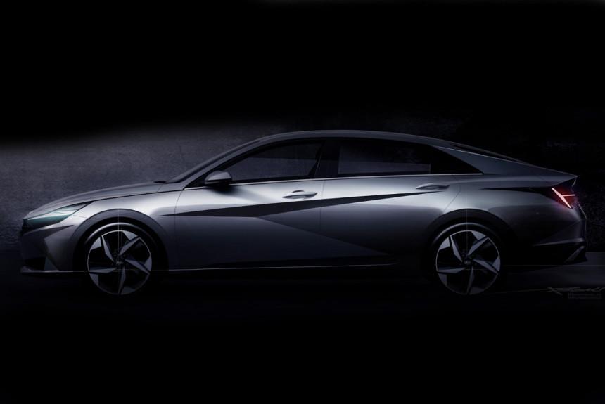 Hyundai Elantra нового поколения дебют через неделю