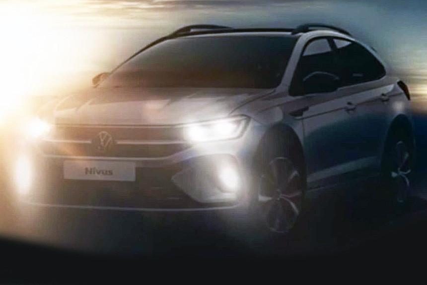 Кроссовер Volkswagen Nivus готовится к премьере