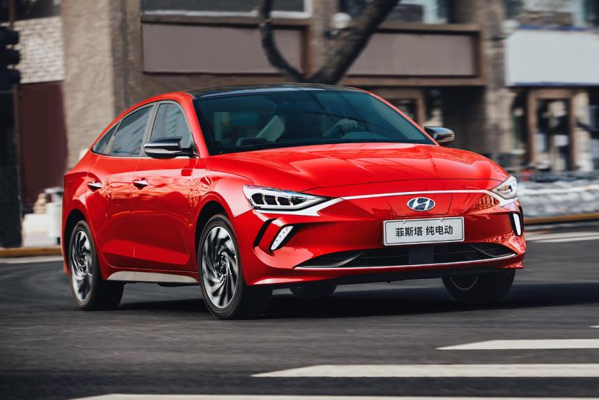 Электрический седан Hyundai Lafesta EV стал серийным