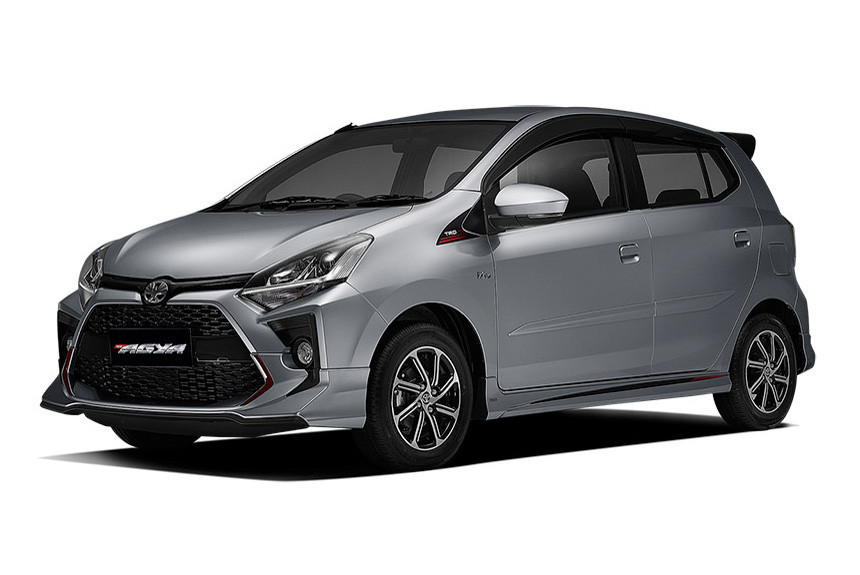 Обновлен компактный хэтчбек Toyota Agya