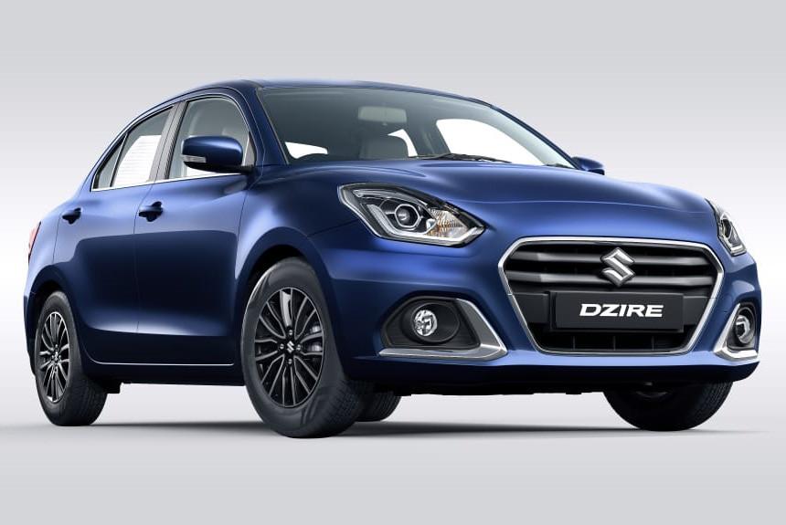 Седан Maruti Suzuki DZire: обновление без дизеля