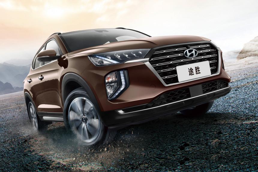 Hyundai Tucson: еще один локальный рестайлинг