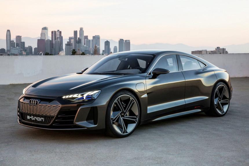Электромобили Audi будут выпускать на четырех платформах