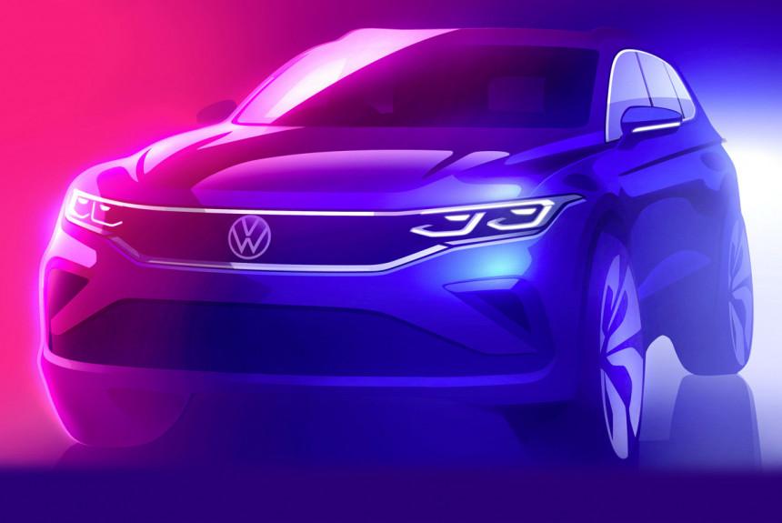 Volkswagen Tiguan: грядущее обновление и юбилей