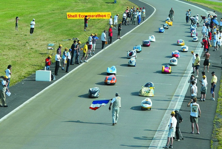 Shell Eco-Marathon: 5000 км на литре бензина?