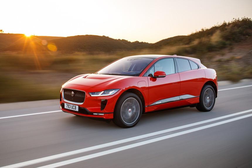Электромобили начинают дешеветь первым стал Jaguar I-Pace