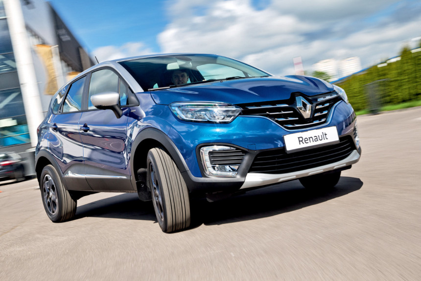 Upgraded Renault Kaptur - with turbo engine, electric power steering and new interior
