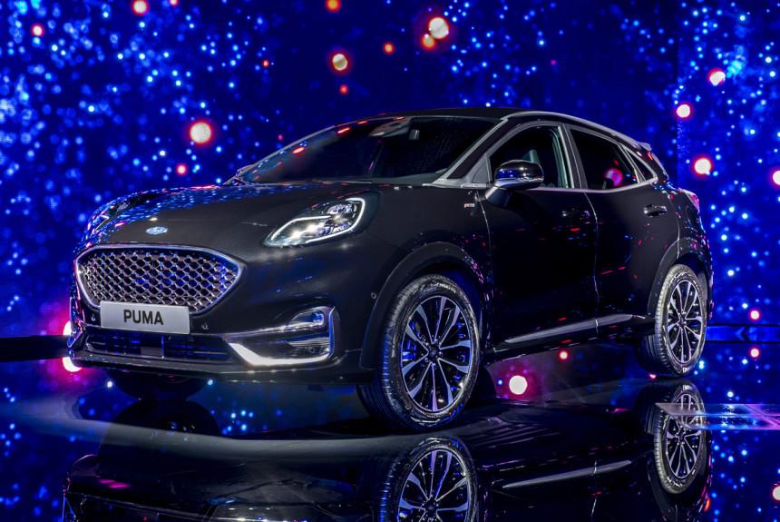 Кроссовер Ford Puma: дизель, «робот» и Vignale