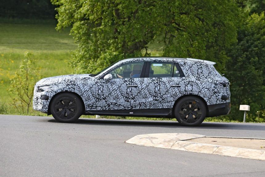 Mercedes-Benz GLC следующего поколения: первые фото