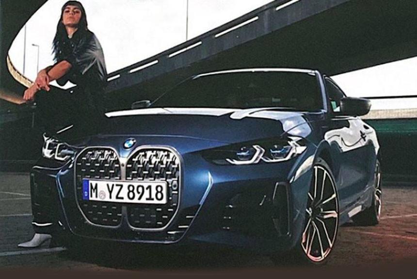 Фотографии новой «четверки» BMW опубликованы раньше срока