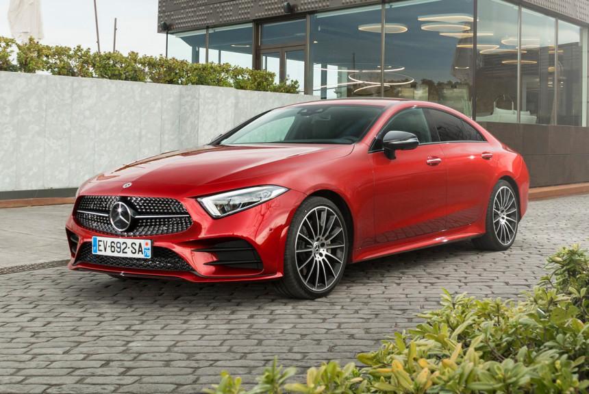 Mercedes-Benz CLS слегка обновлен вслед за E-классом