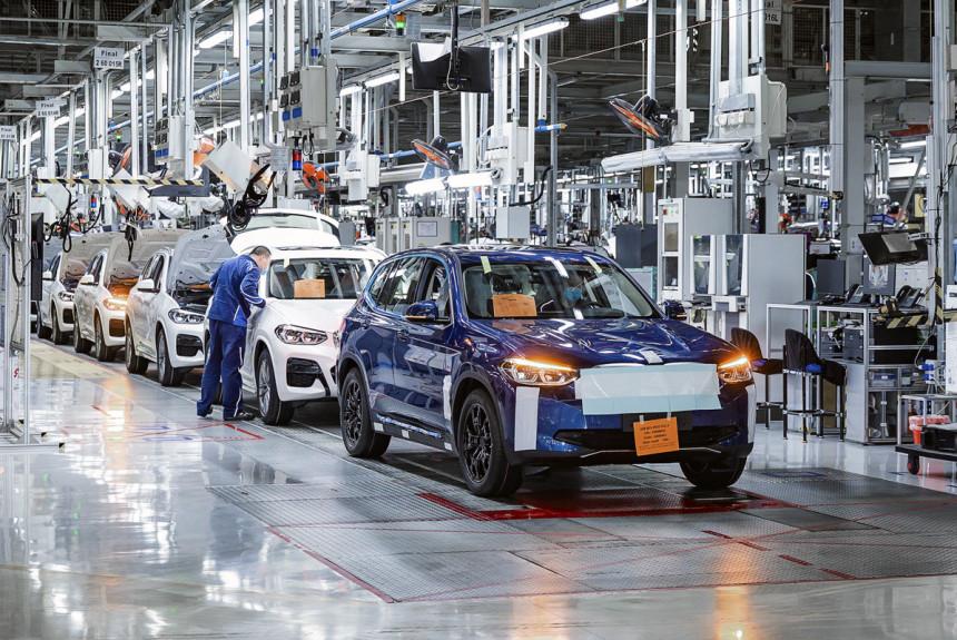 Электрический кроссовер BMW iX3 готовится встать на конвейер
