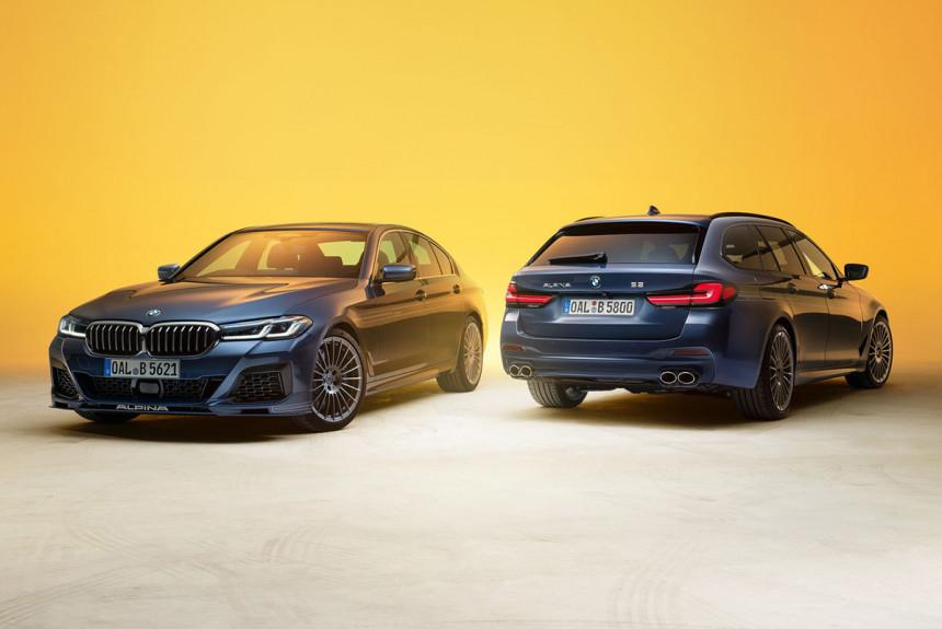 Обновленные BMW Alpina B5 и D5 S стали мощнее