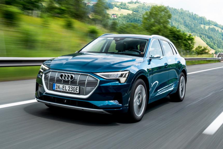 В России начинаются продажи электромобилей Audi e-tron