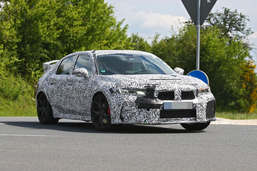 Honda Civic Type R нового поколения: первые подробности