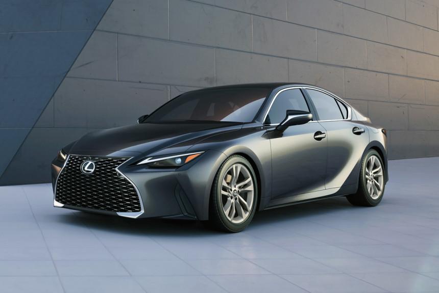 Новый седан Lexus IS полностью рассекречен