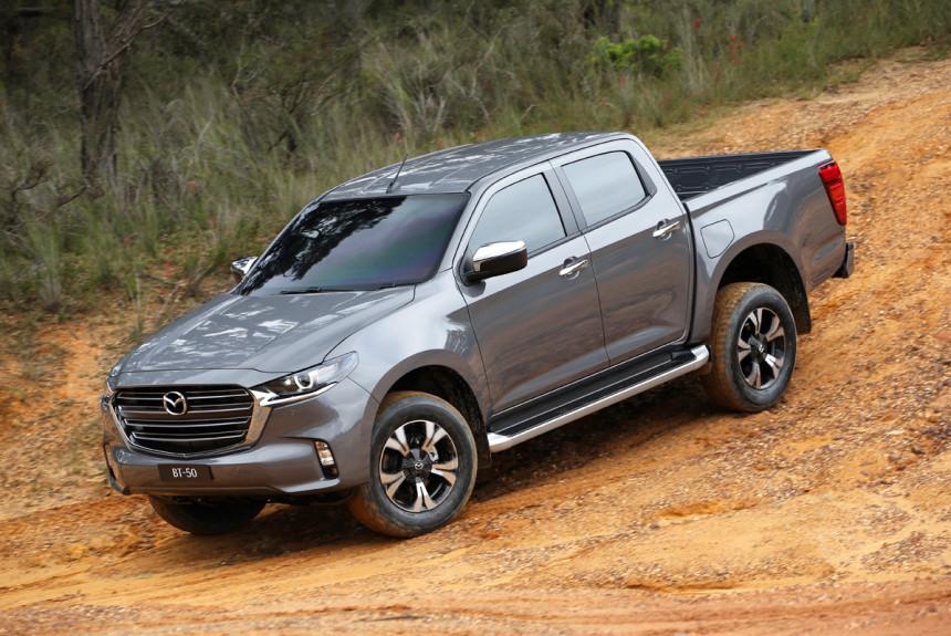Новый пикап Mazda BT-50 променял Ford на Isuzu