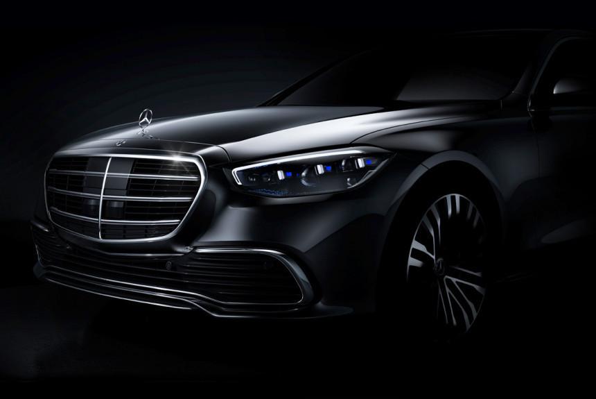 Будущий Mercedes S-класса: V12, гибрид и новые подробности — Авторевю