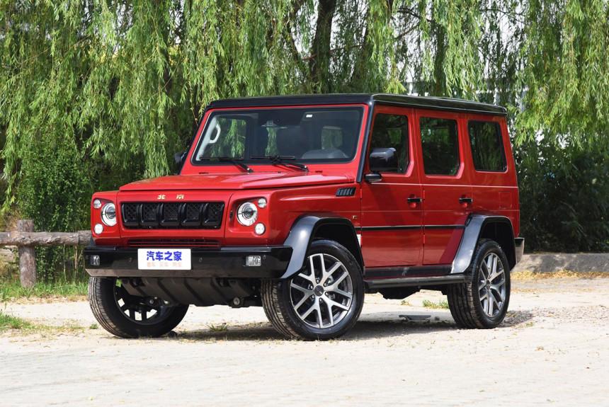 Доработанный Beijing BJ80: китайский Гелик обрел V6