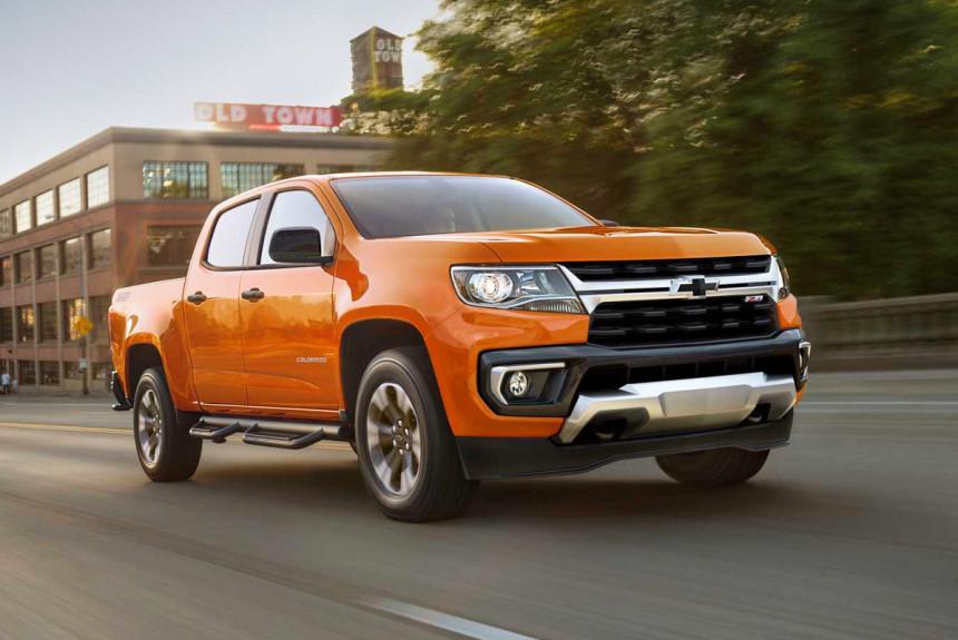 Пикап Chevrolet Colorado обновлен в стиле старших моделей