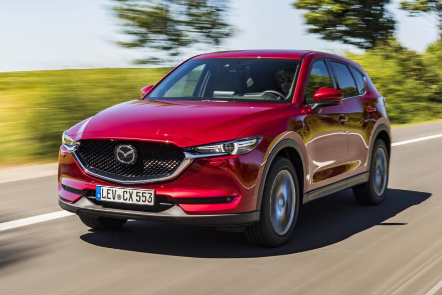 Кроссовер Mazda CX-5 стал тише и экономичнее