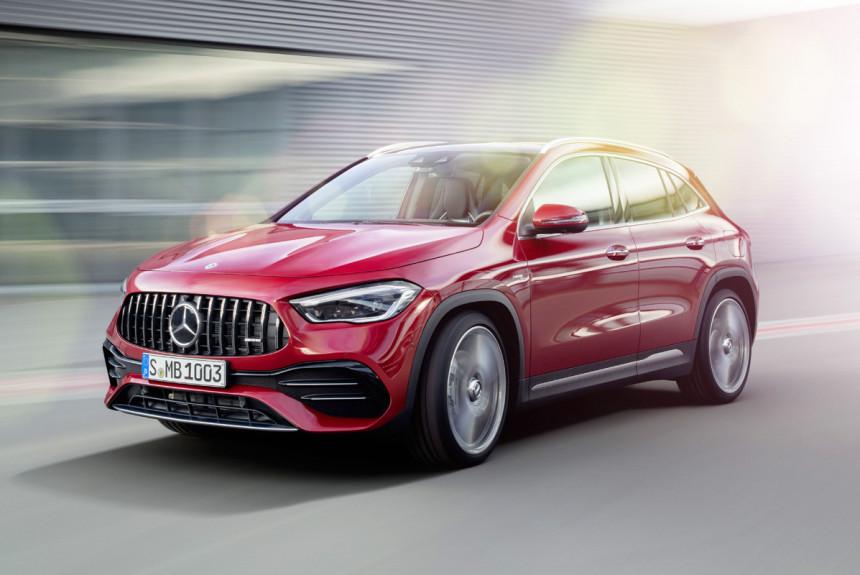 Mercedes-AMG GLA нового поколения цены в России