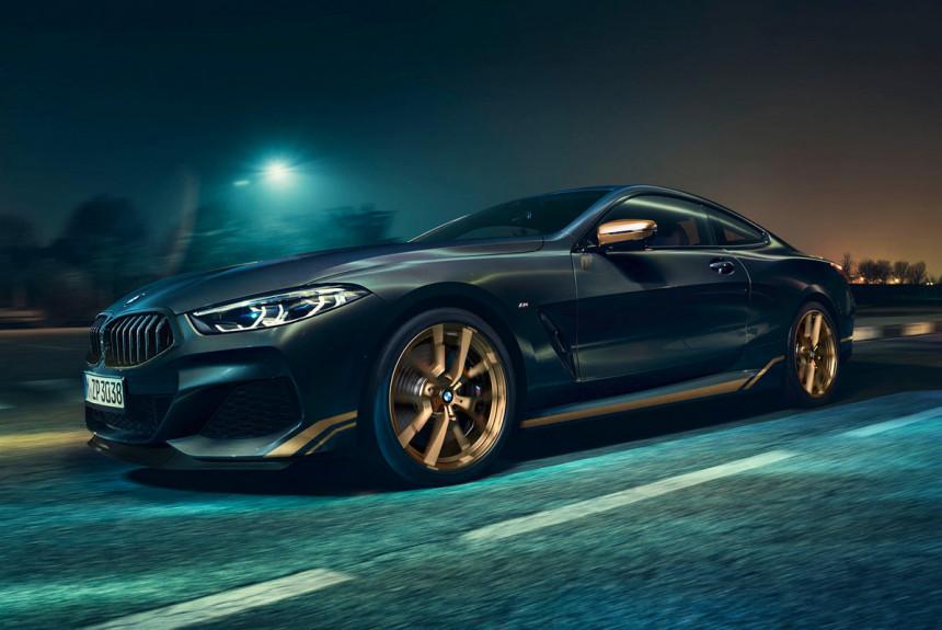 «Восьмерка» BMW Golden Thunder доберется до России