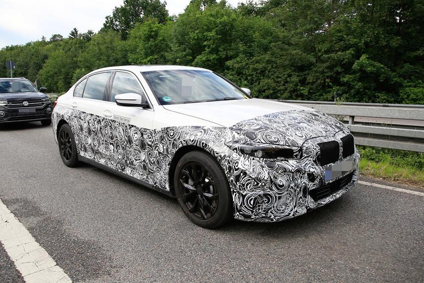 Электрический седан BMW третьей серии вышел на тесты