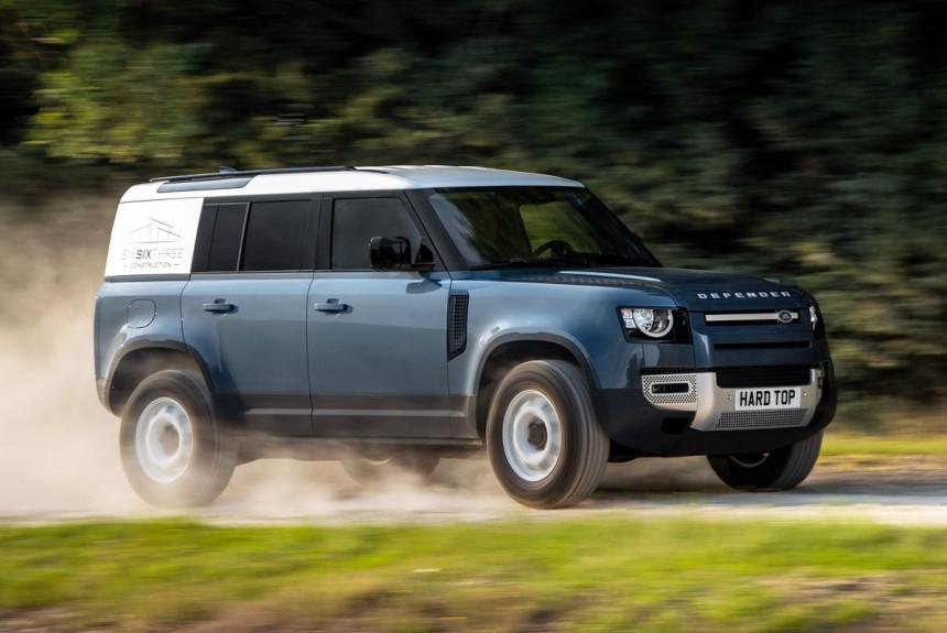 Land Rover Defender Hard Top: фургон из внедорожника