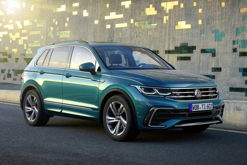 Обновленный Volkswagen Tiguan: теперь официально