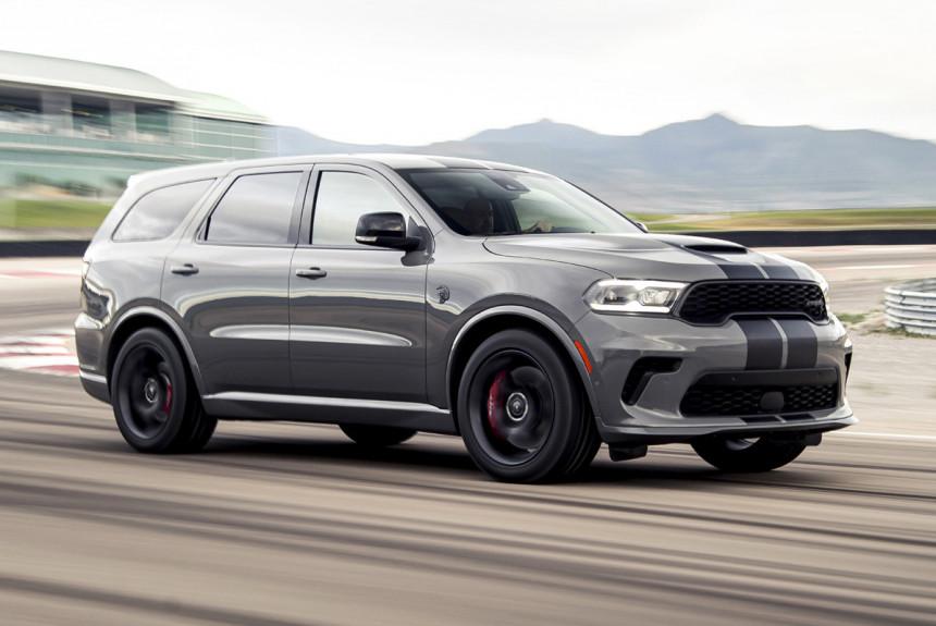 Кроссовер Dodge Durango: обновление и сумасшедший Hellcat
