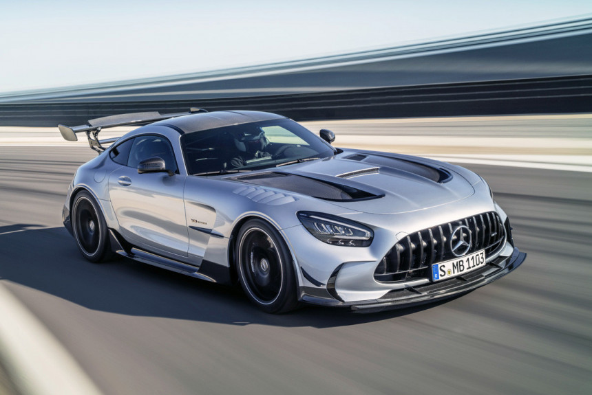 Mercedes-AMG GT Black Series: новая топ-версия