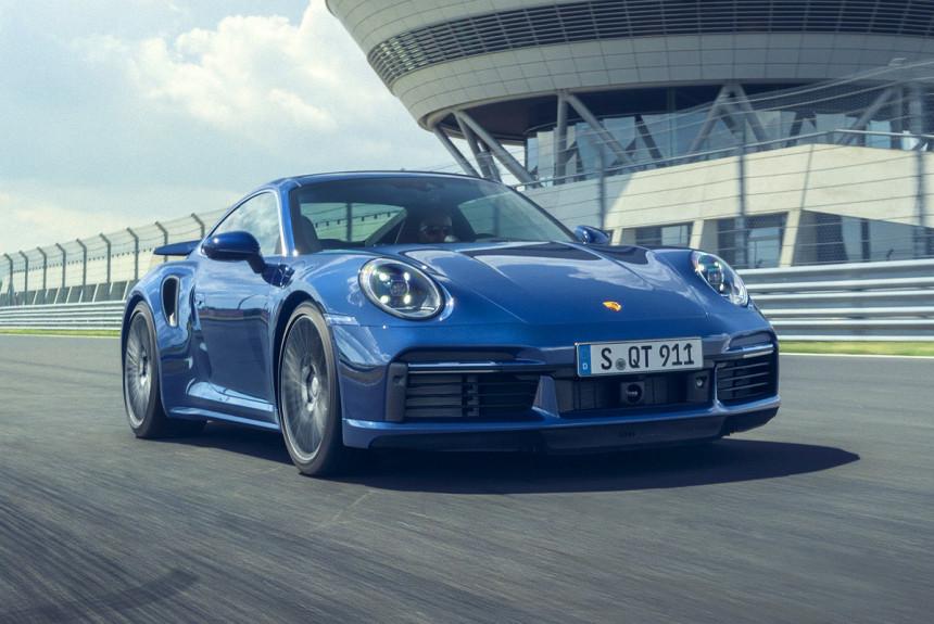 Новый Порш 911 Turbo получил мощность 572 л.с