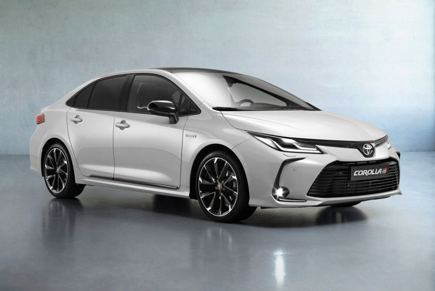 Седан Toyota Corolla GR Sport для Европы и России