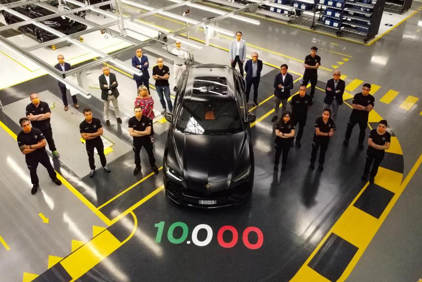 Юбилейный Lamborghini Urus отправится в Россию